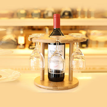 BAMBUS VIN HOLDER -