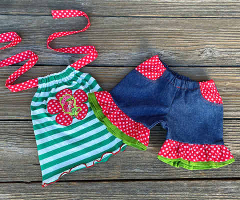 Stawberry Shortcake Boutique Girl Outfits And Dresses