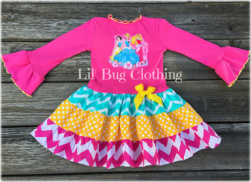 Disney Princess Birthday Girl Dress