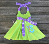 Personalized Tinkerbell Twirl Dress