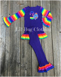 My little Pony Rainbow Dash Birthday Outfit