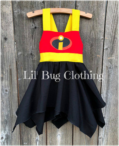 Incredibles Handkerchief Costume Dress