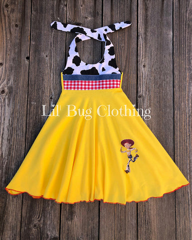 Jessie Toy Story Knit Dress
