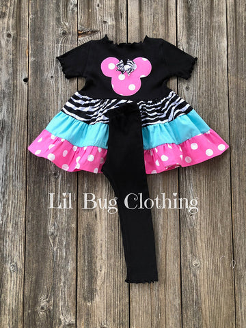 Animal Kingdom Minnie Mouse Outfit