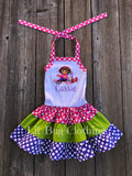 Persoanlized Dora The Explorer Dress