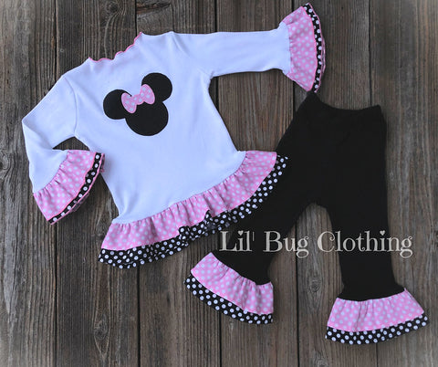 Bubblegum Pink Minnie Mouse Outfit