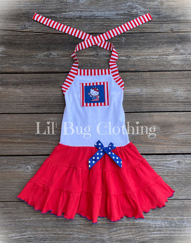Hello Kitty 4th Of July Dress