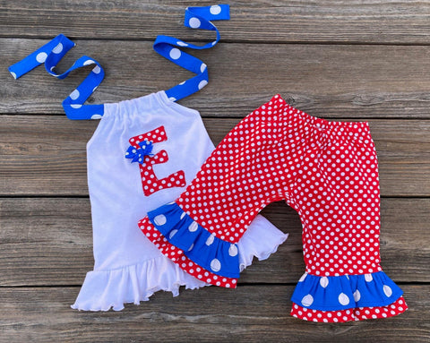 4th Of July girl outfit