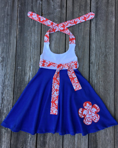 4th Of July Girl Dress