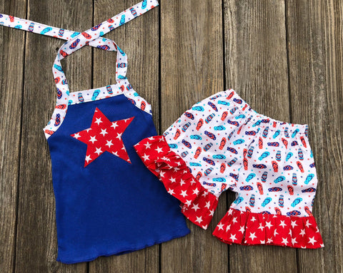 4th Of July Girl Clothes
