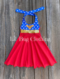 Wonder Woman Costume Dress