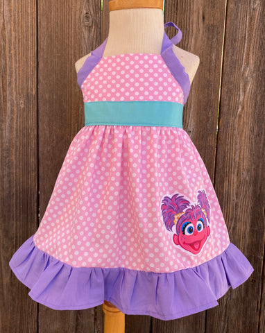 Abby Cadabby & Elmo Dress