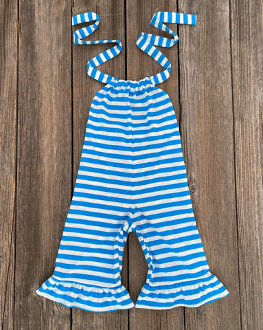 Boutique Little Girl Summer Romper