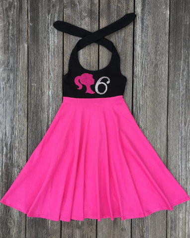 Barbie Girl Birthday Dress