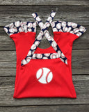 Baseball Toddler Romper