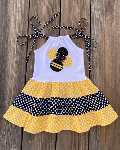 Bumble Bee Girl Dress