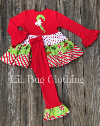 Christmas Girl Holiday Outfit