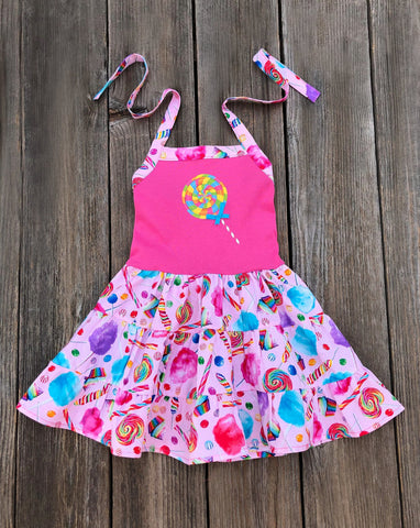 candyland lollipop dress