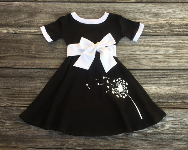 Dandelion girl dress