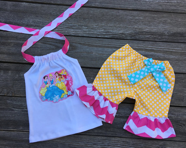 Disney Princess Girl Outfit