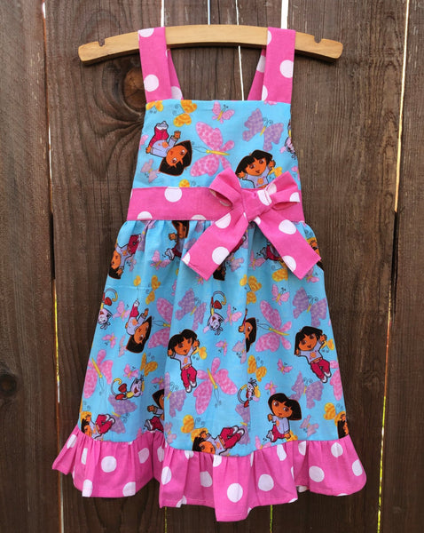 Dora The Explorer Toddler Dress