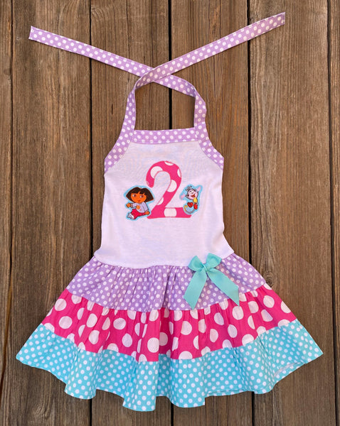 Personalized Dora The Explorer Dress
