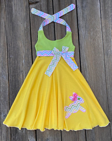 Easter Bunny Girl Dress