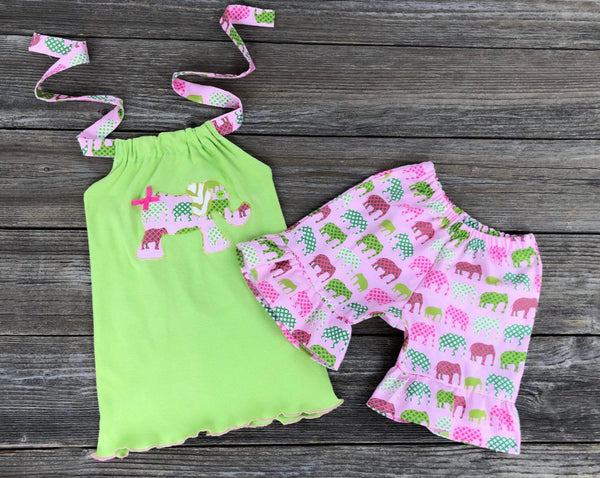 Elephant Short Set