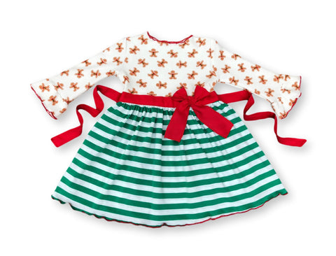 Gingerbread girl  Christmas Holiday dress