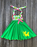Butterfly Girl Dress