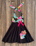 Hawaiian Toddler Girl Dress