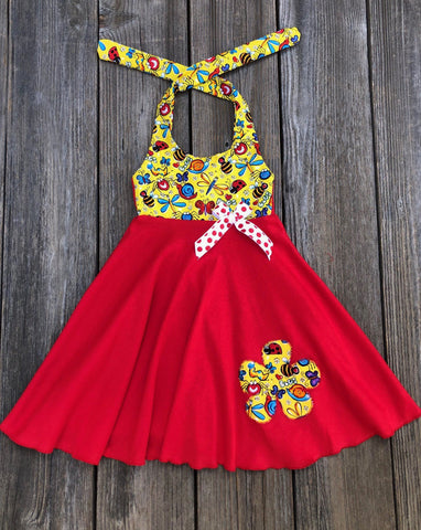 ladybug bee butterfly insect dress
