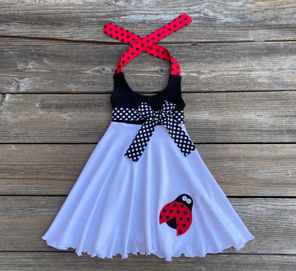 Ladybug Toddler Girl Dress