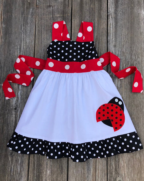 ladybug girl dress