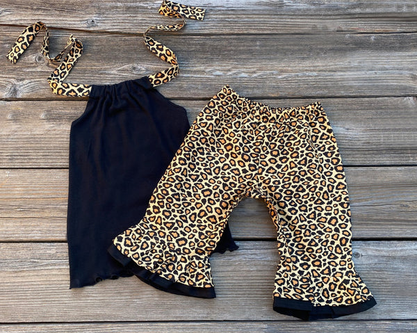Leopard Print Girl Outfit