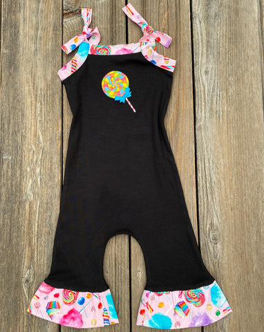 lollipop romper girl outfit