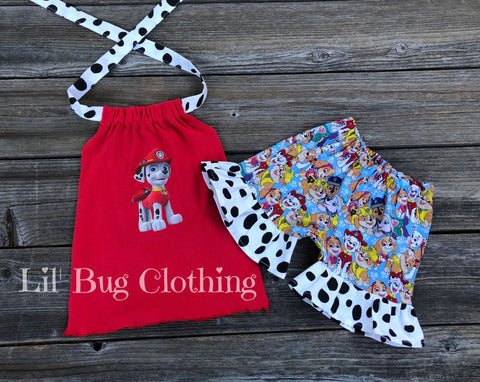 Marshall Paw Patrol Outfit