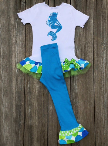 Mermaid Girl Outfit