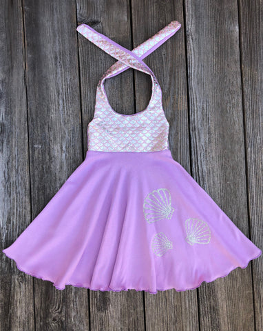 Mermaid Scales Girl Dress