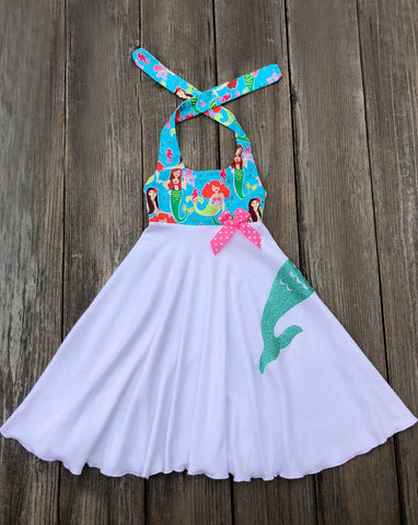 Mermaid Tail Boutique GIrl Dress