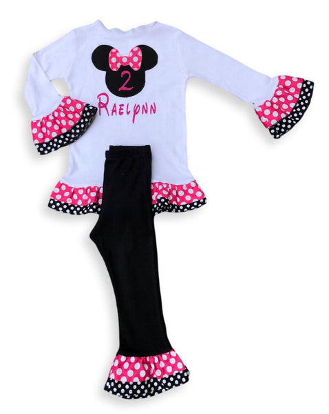 Minnie Mouse Personalized Outfit