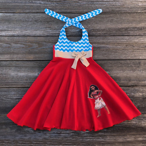 Moana Girl Dress