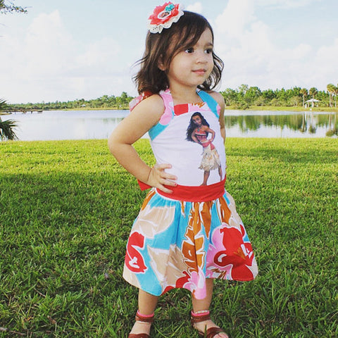 Moana Tropical Dress