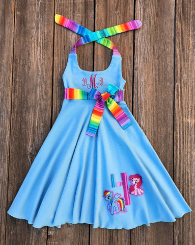 My Little Pony Birthday Girl Dress