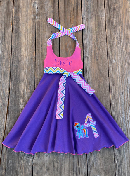 My Little Pony Rainbow Dash Twirl Dress