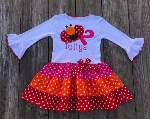 birthday girl toddler dress