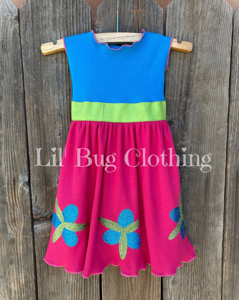 Poppy Troll Dress