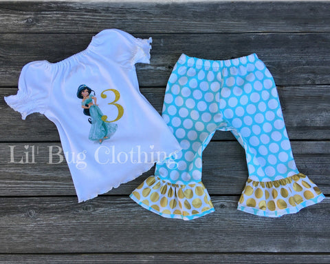 Princess Jasmine Birthday Outfit