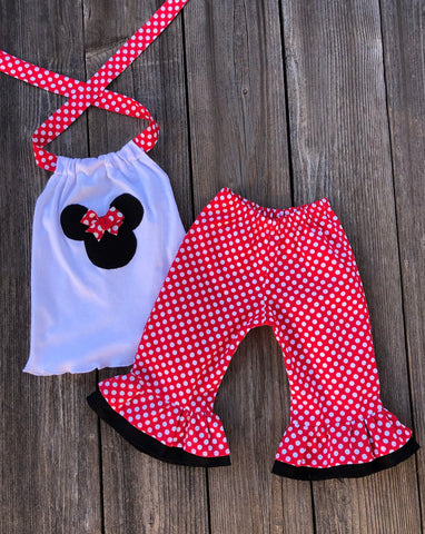 Minnie Mouse Girl Outfit