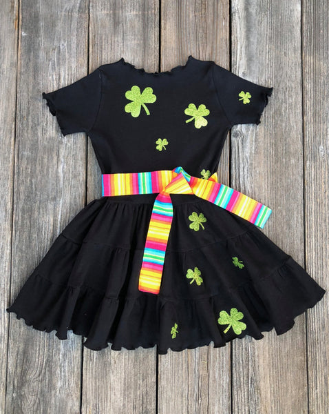 St. Patricks Day Dress Girl